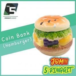 Coin Bank (Hamburger)