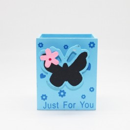 Pen Holder (Butterfly) BLUE