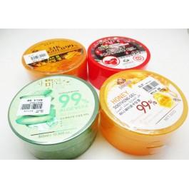 Aloe vera Gel 99% cherry honey 24k gold soothing gel-300ml