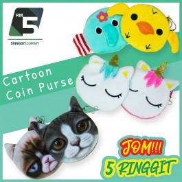 Cartoon Coin Purse For Kids