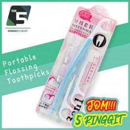 Portable Flossing Toothpicks