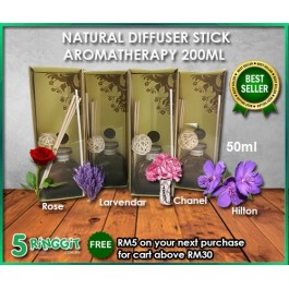 Natural Diffuser Stick Aromatherapy (50ml)