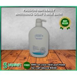 Passion Naturally Whitening Goat's Milk Bath