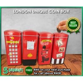 London Unique Coin Box