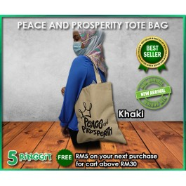 Peace And Prosperity Tote Bag