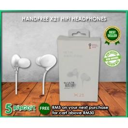 Handfree X21 HIFI Headphones