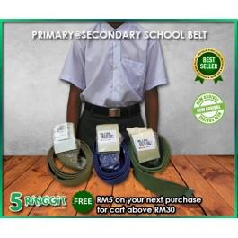 [Ready Stock] Primary Secondary School Belt | Tali Pinggang Sekolah - 5Ringgit.com.my