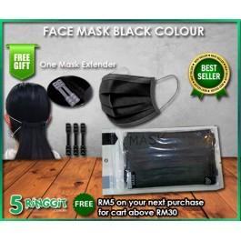 Face Mask Black Colour