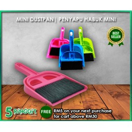 Penyapu Habuk Mini Penyapu Desktop | Mini Dustpan