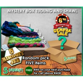 ALL NEW ARRIVAL Mystery Box Tudung And Shawl