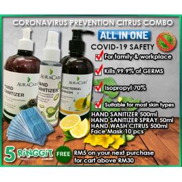 Coronavirus Prevention Citrus Combo