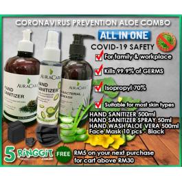 Coronavirus Prevention Aloe Vera Combo