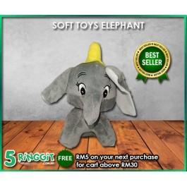 SOFT TOYS ELEPHANT